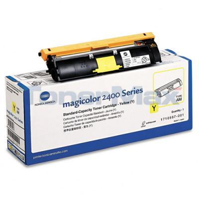 QMS MAGICOLOR 2400W 2430DL TONER CARTRIDGE YELLOW